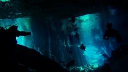 plongée cenote péninsule yucatan mexique