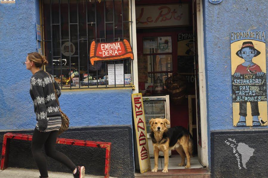 Valparaiso chien empanaderia empanada