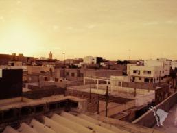 Les toits de Dakar au Sénégal