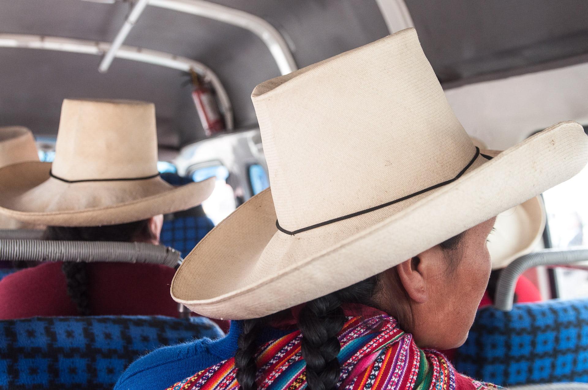 chapeau cajamarca paille tressé