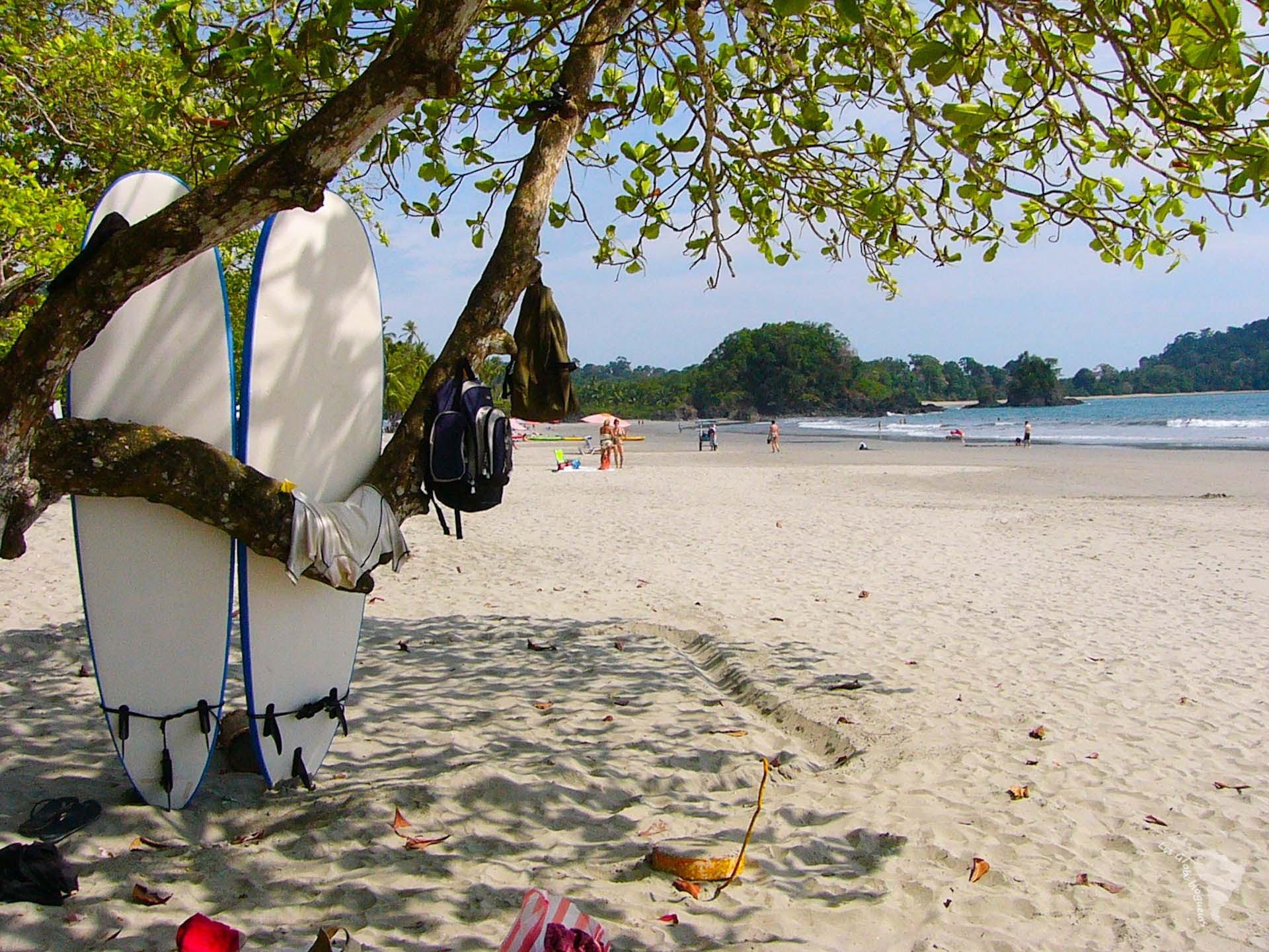plage surf quepos