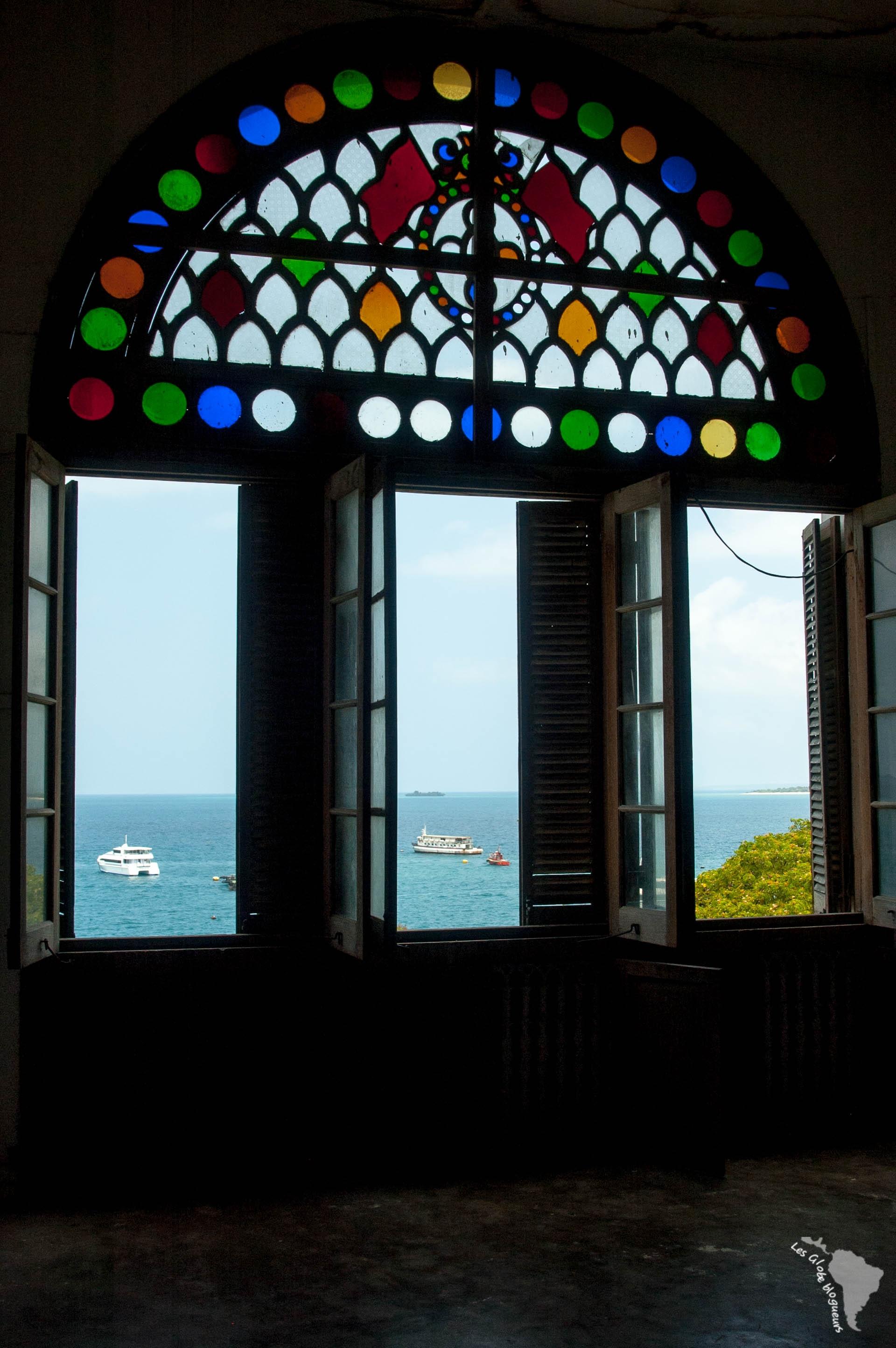 vue sur la mer depuis le palace du sultan