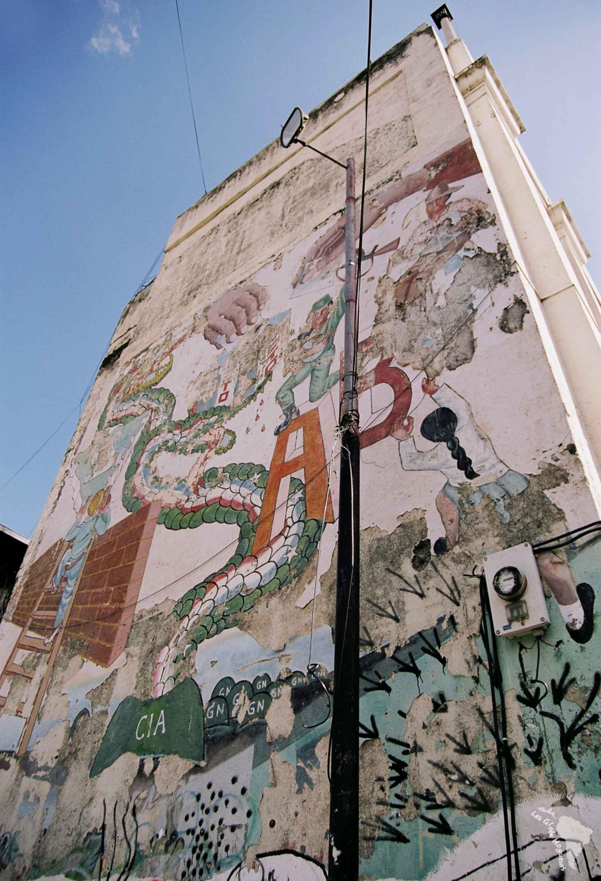 Murale CIA
