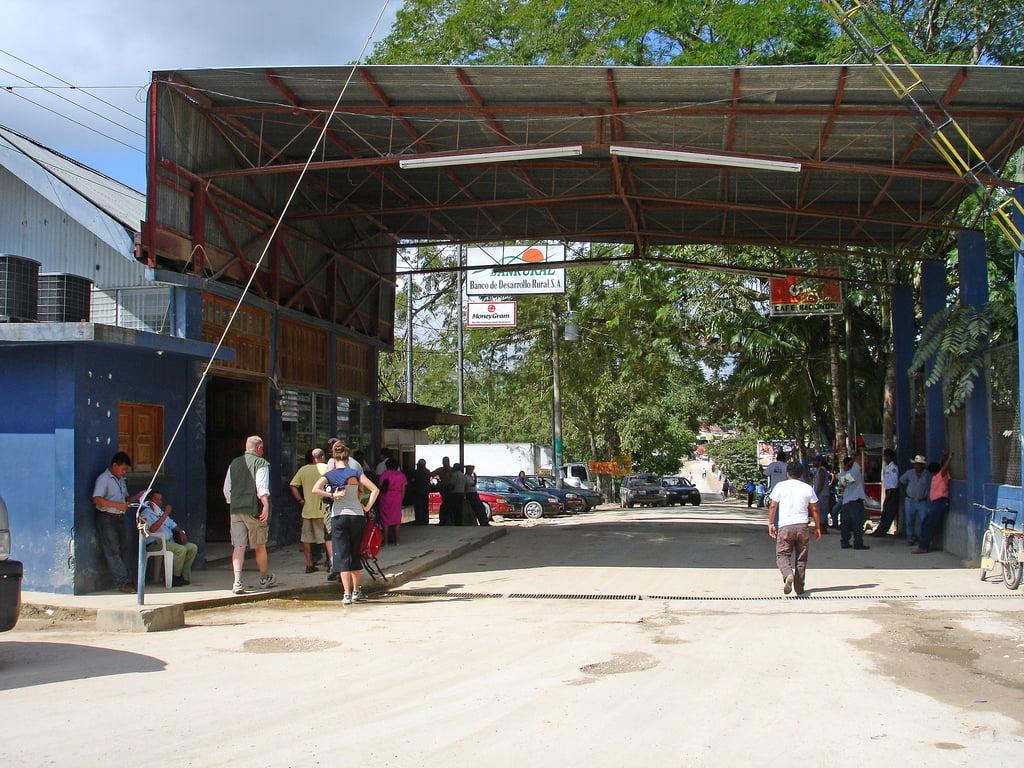 frontière belize guatemala