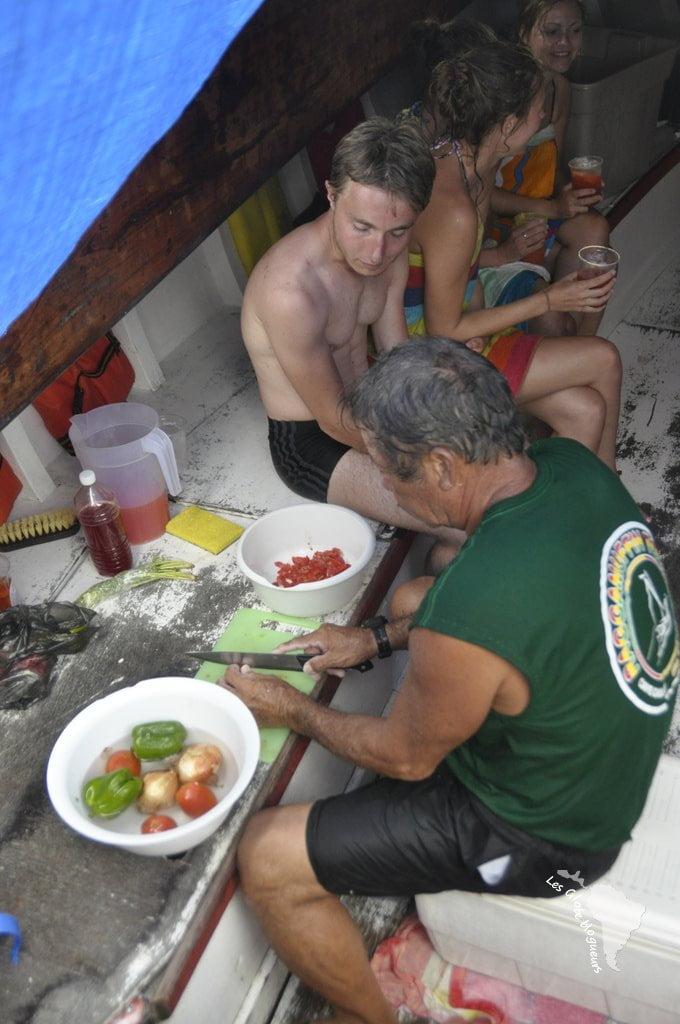 Bateau Caye caulker reggae ceviche