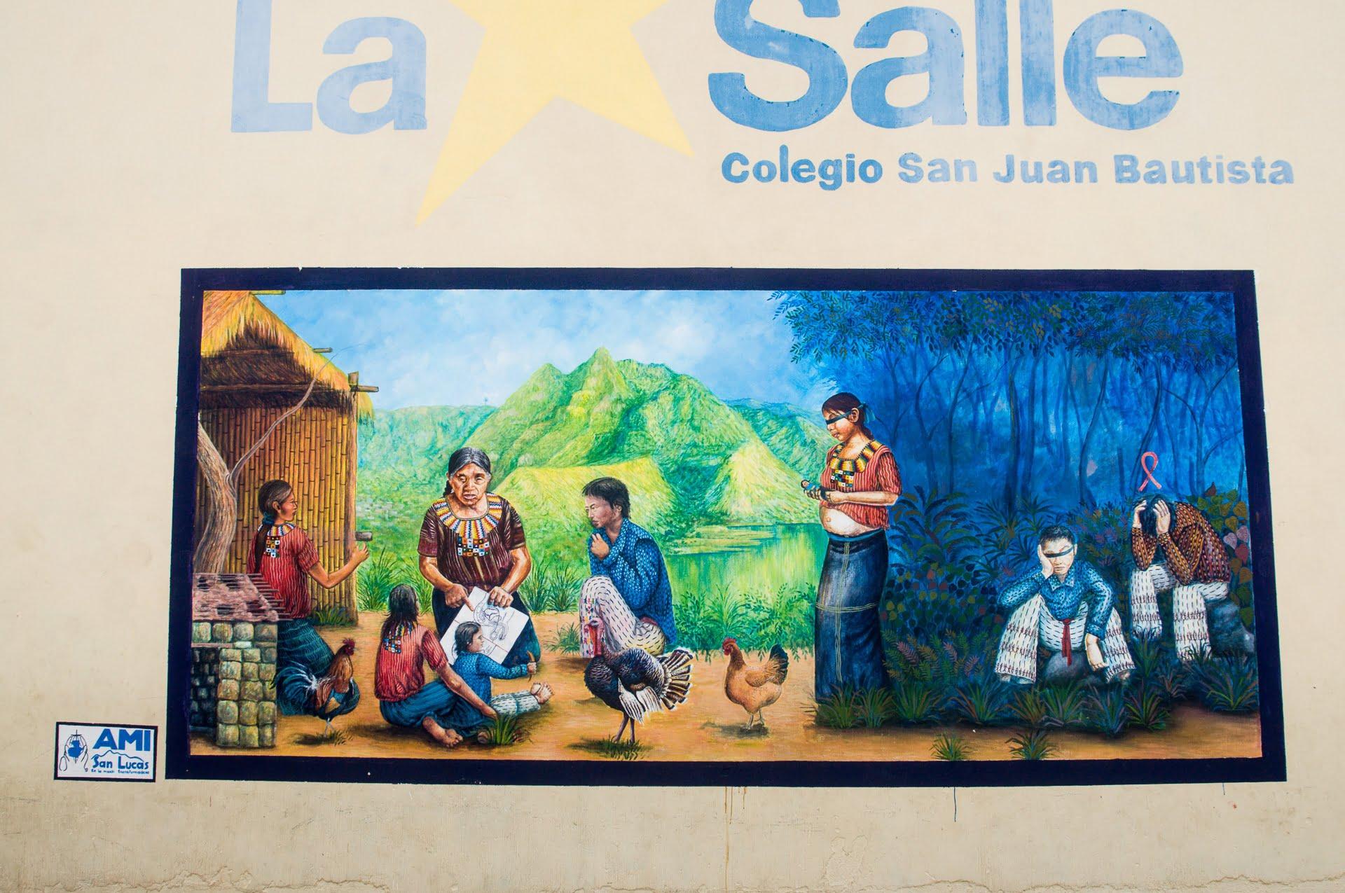 atitlan murale educative
