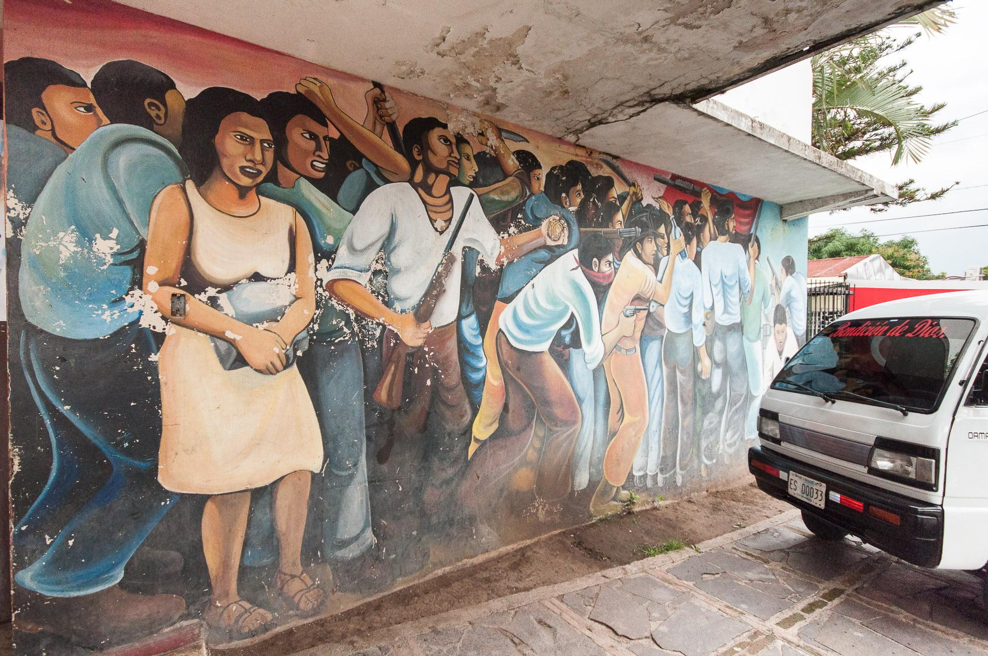 Murale du centre culturel d'Esteli