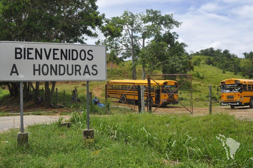 Frontière Guatemala Honduras
