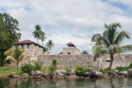 Le castillo San Felipe à rio dulce