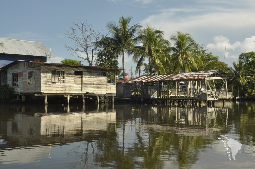 Maisons flottantes panama