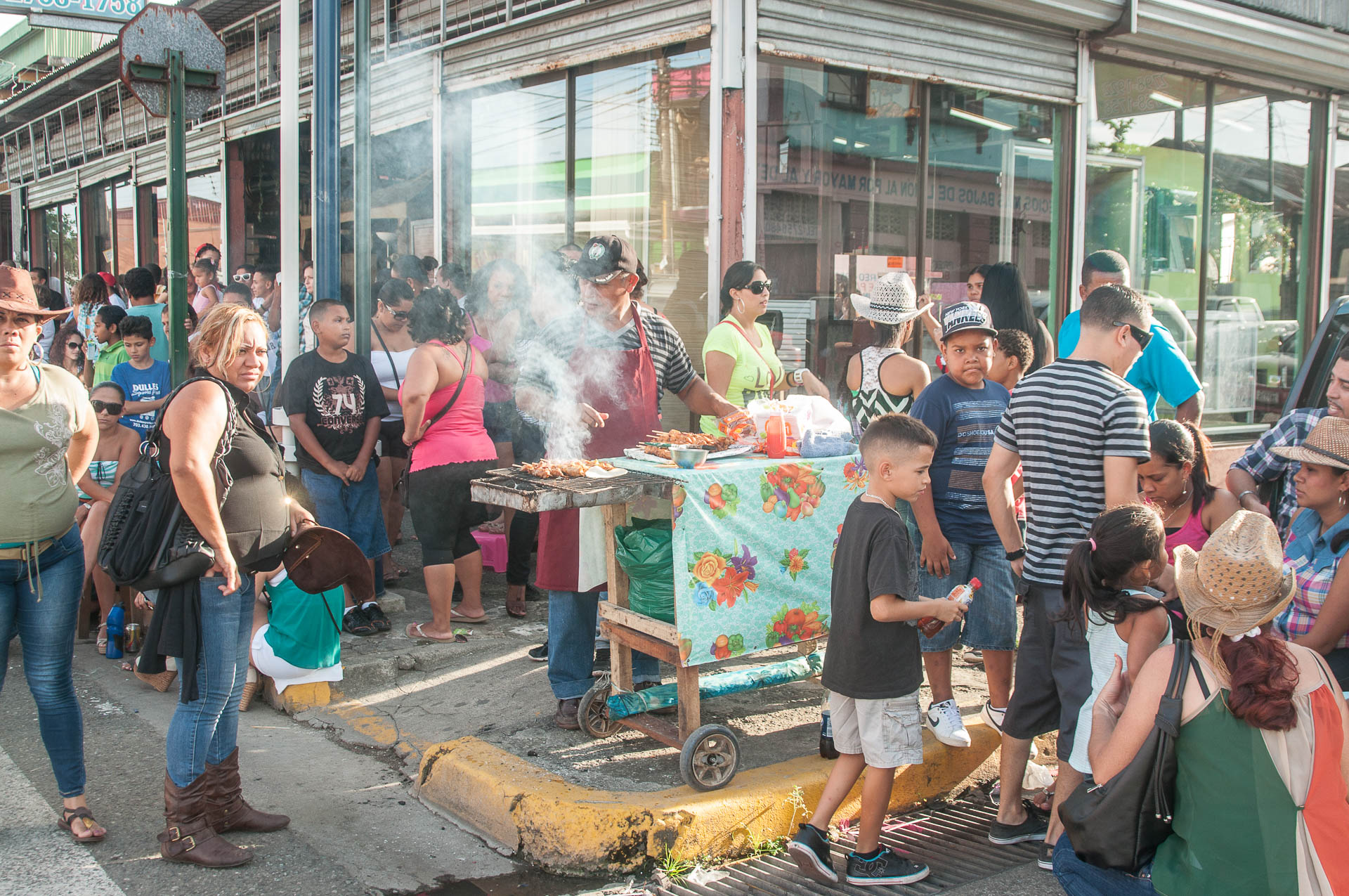 puerto limon barbecue - Les globe blogueurs - blog voyage nature