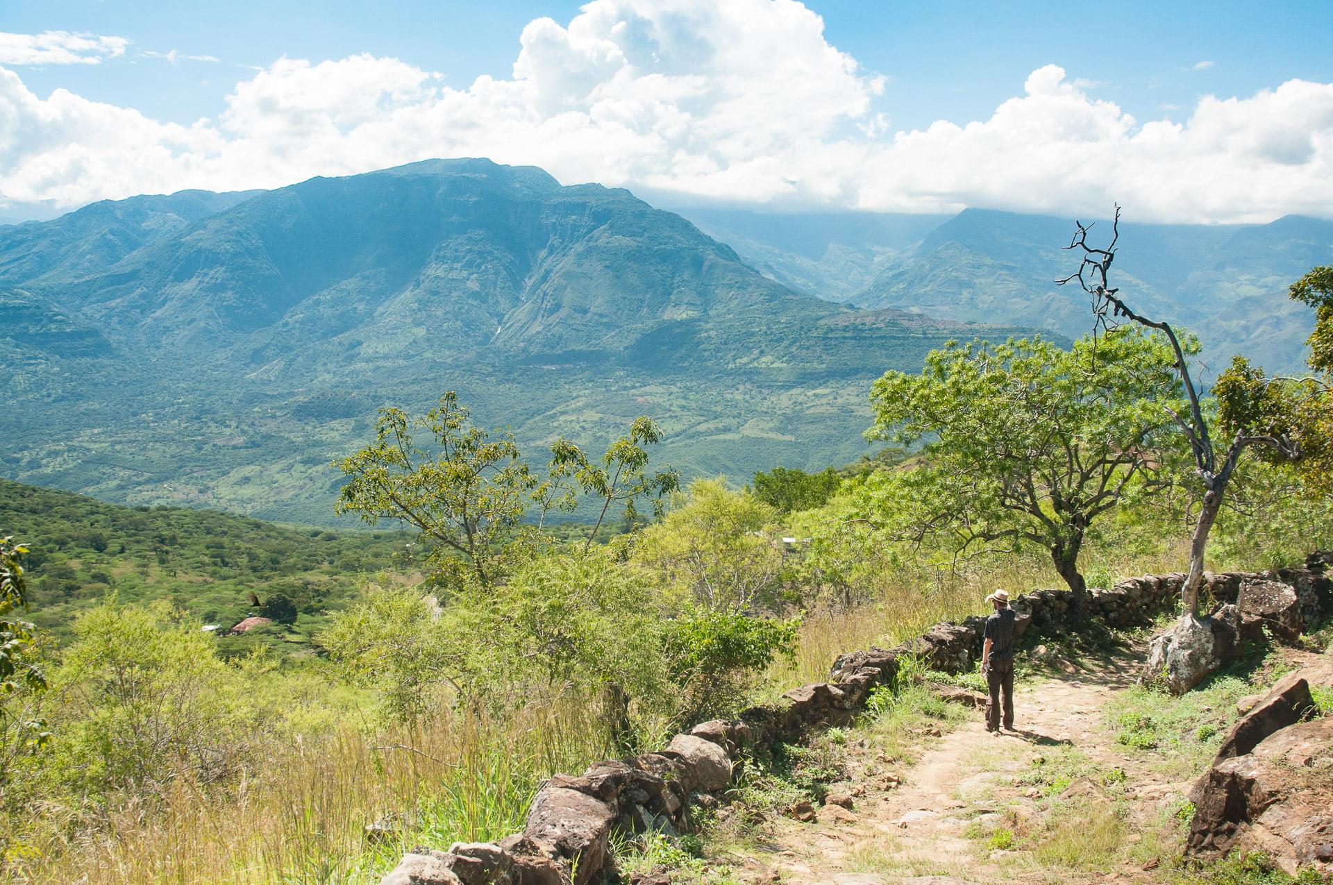 Barichara chemin guane - Les globe blogueurs - blog voyage nature