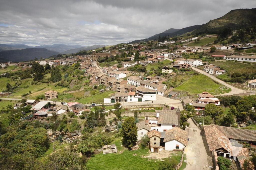 Vue sur le village de Mongui