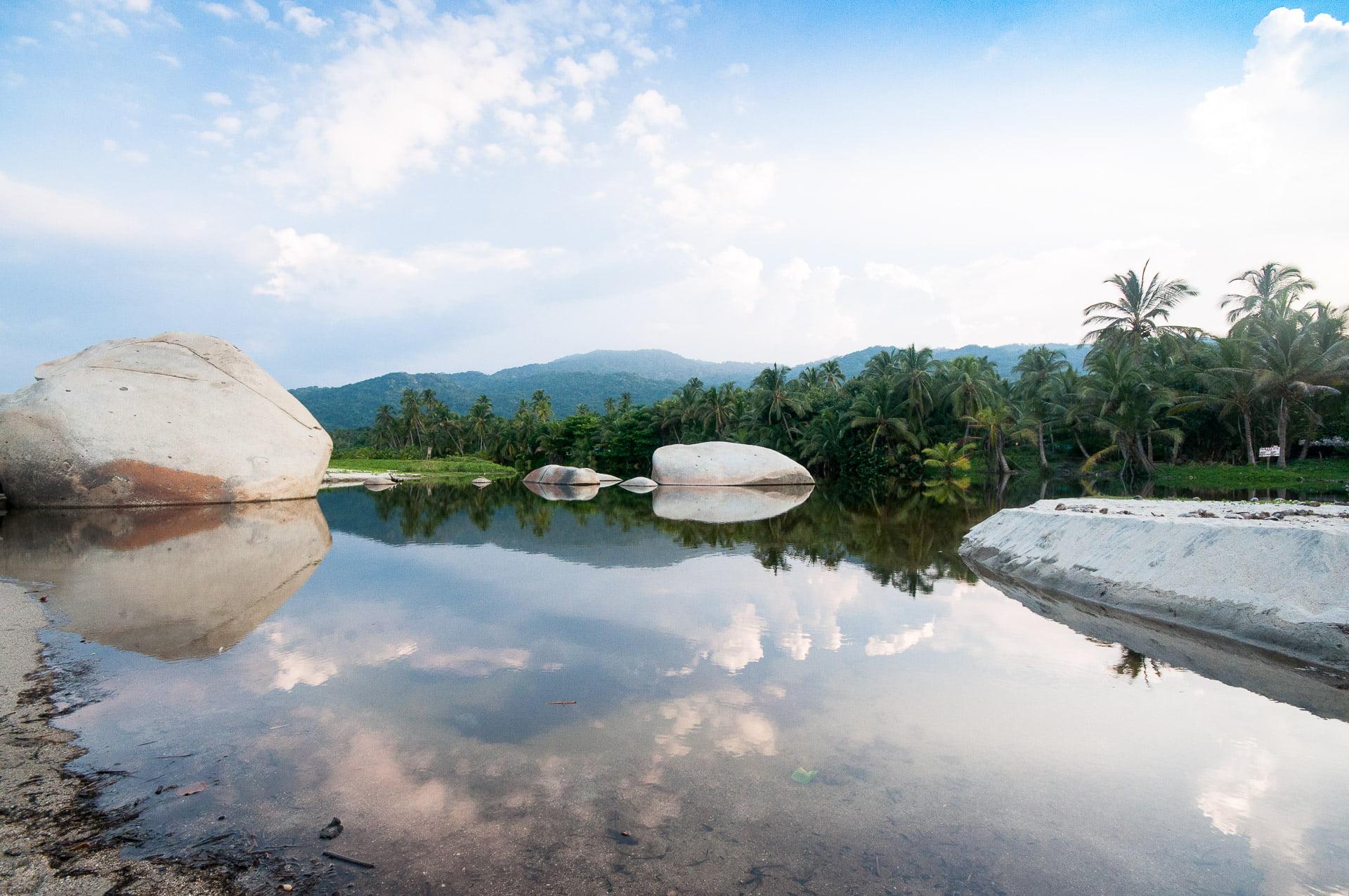 Lagune jungle tayrona