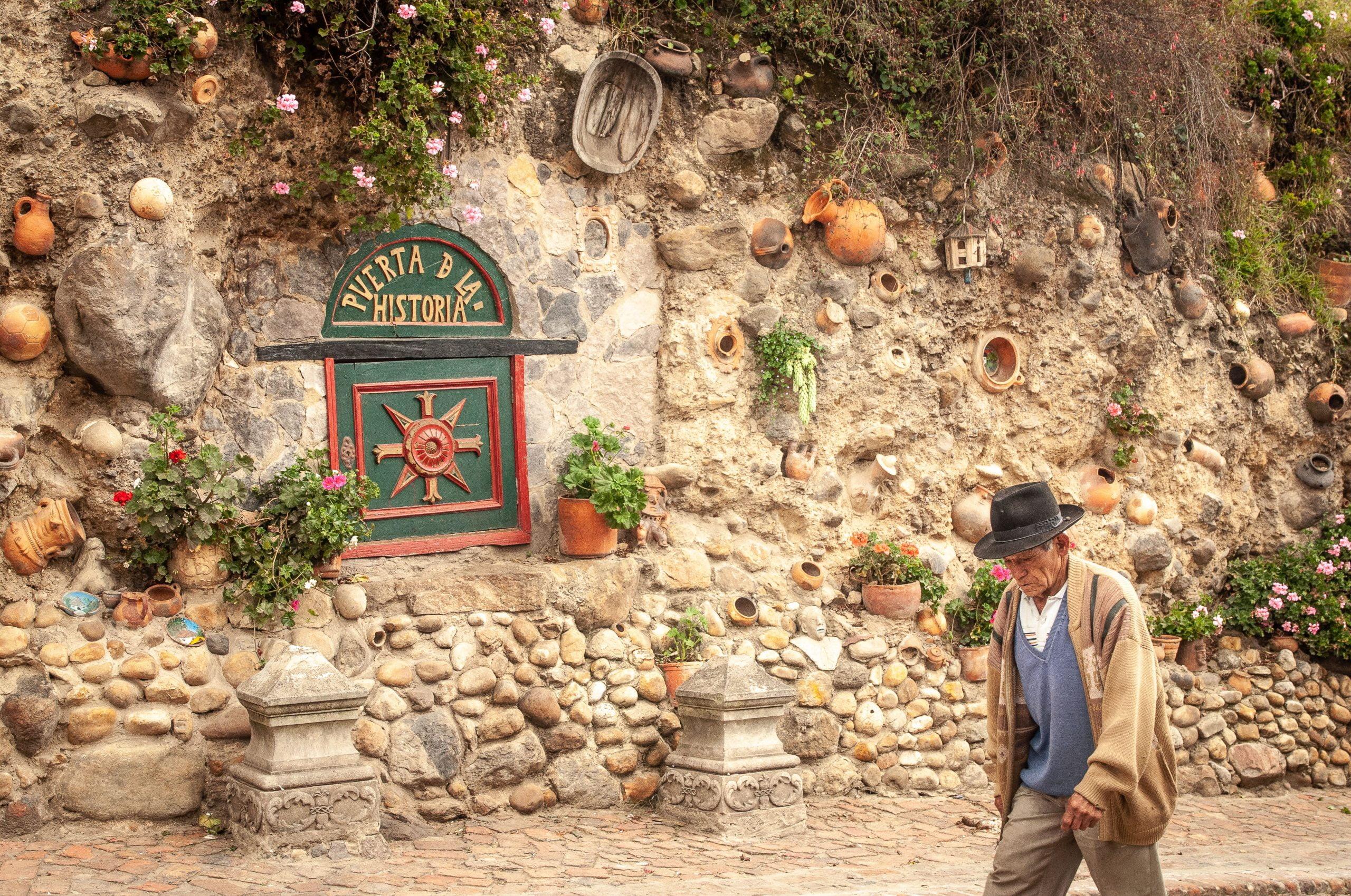 village de mongui boyaca colombie