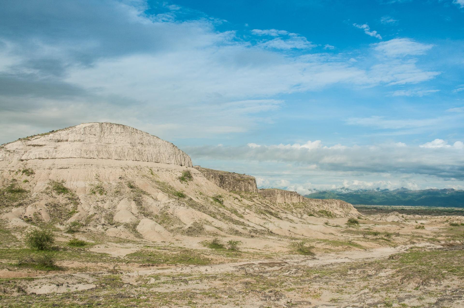 tatacoa desert blanc - Les globe blogueurs - blog voyage nature