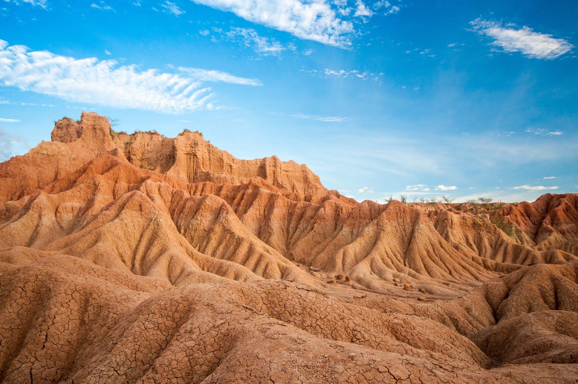 relief désert tatacoa