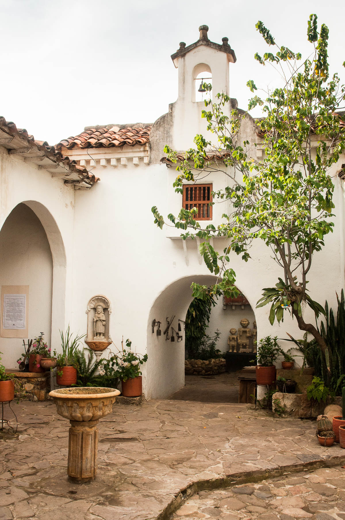 Cour du musée Acuna villa de leyva