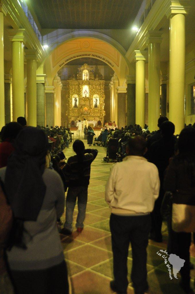 L'église est pleine à craquer