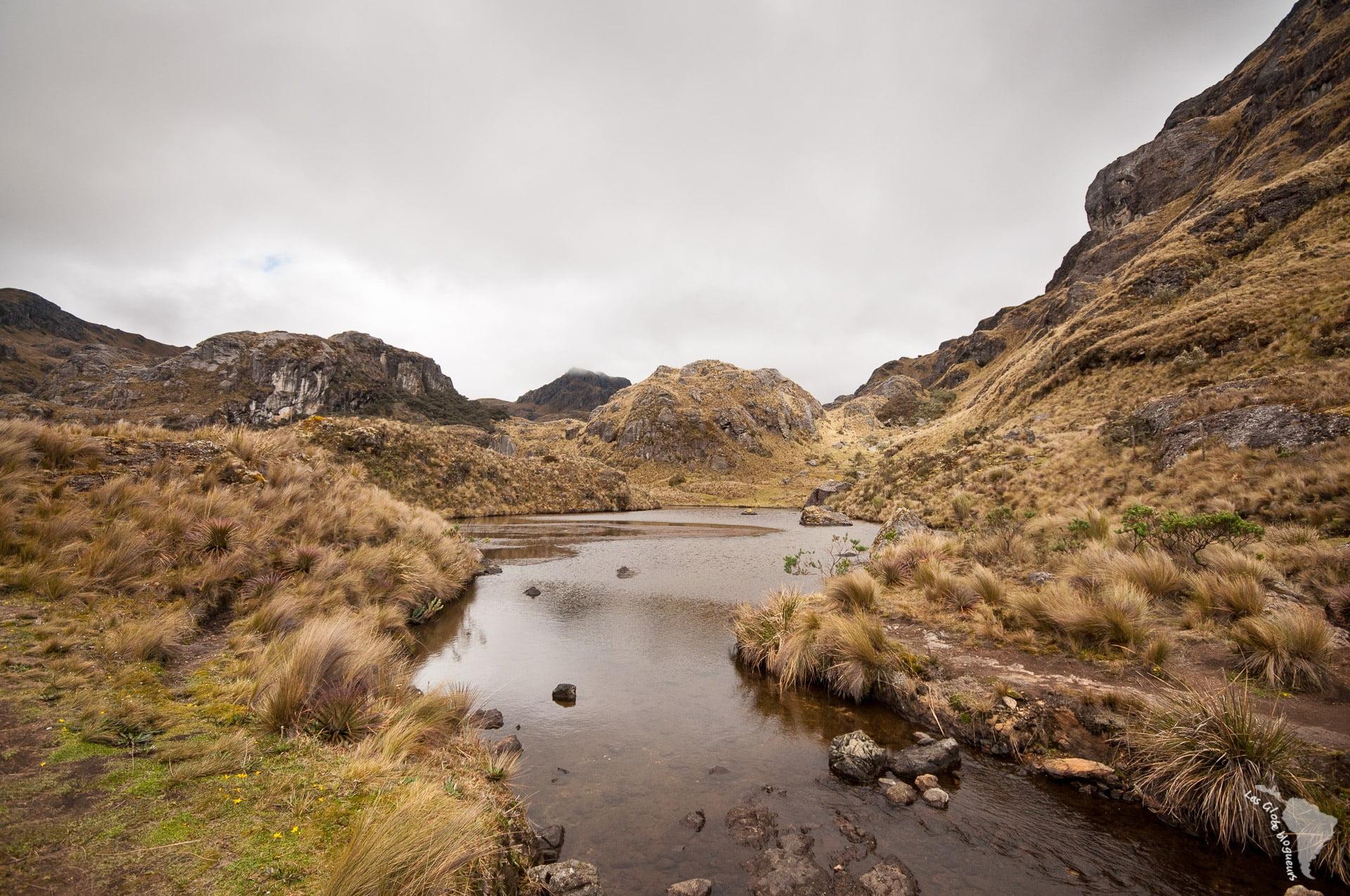 rivière el cajas - Les globe blogueurs - blog voyage nature