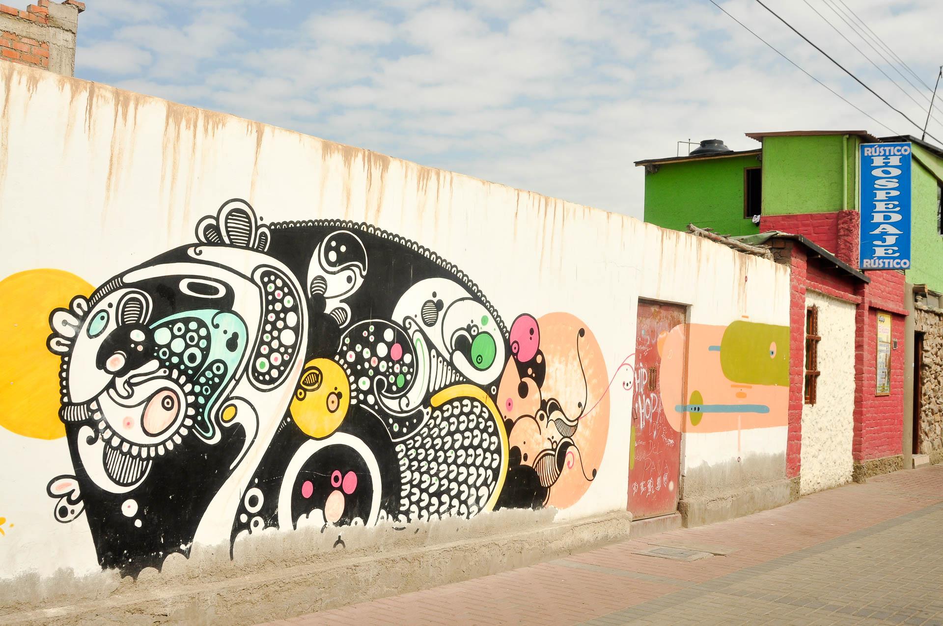 Huanchaco graff hospedaje - Les globe blogueurs - blog voyage nature