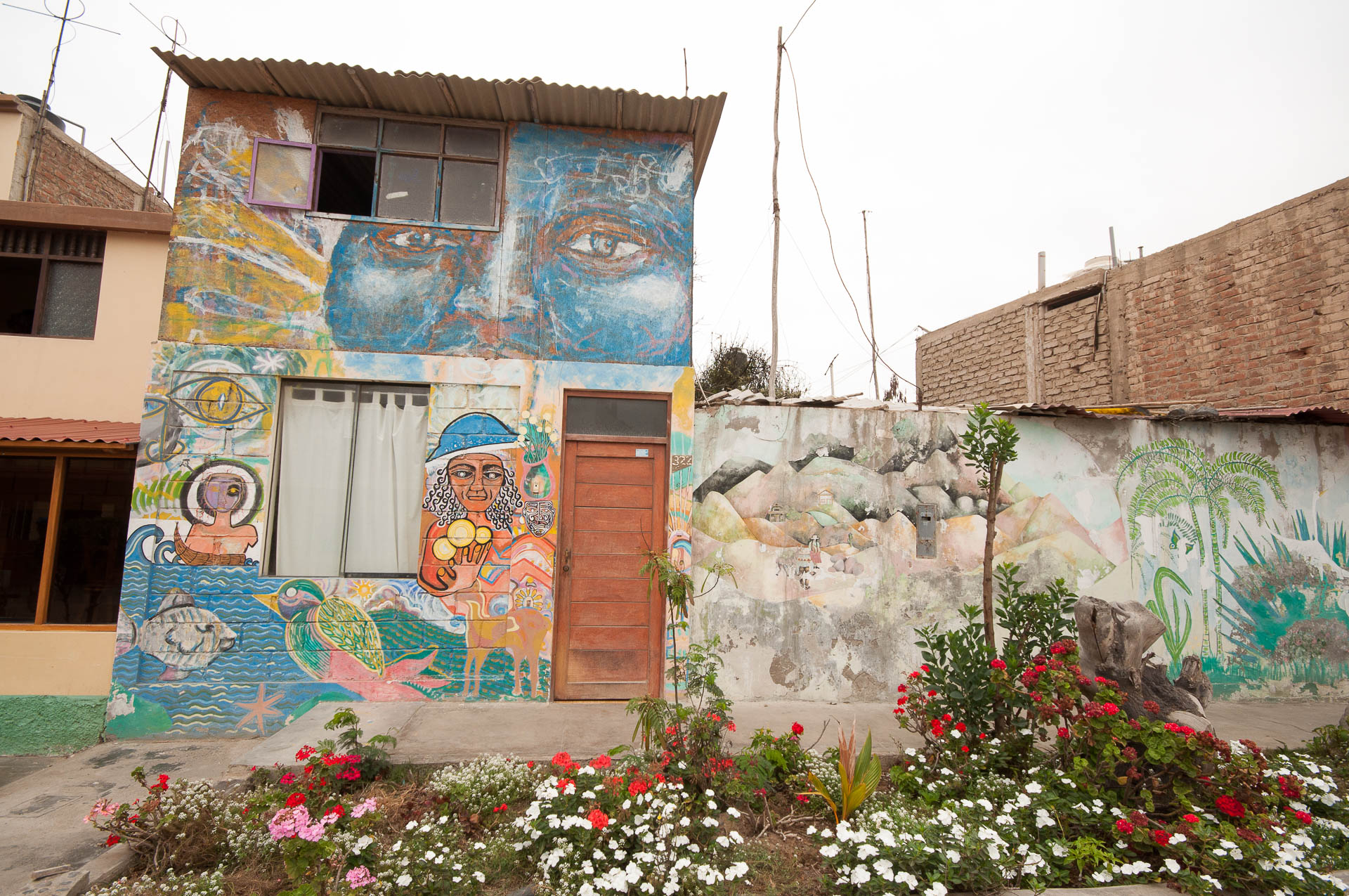 Huanchaco maison luis - Les globe blogueurs - blog voyage nature