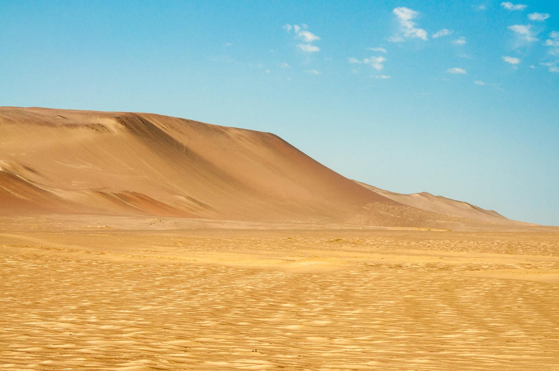 paracas désert - Les globe blogueurs - blog voyage nature