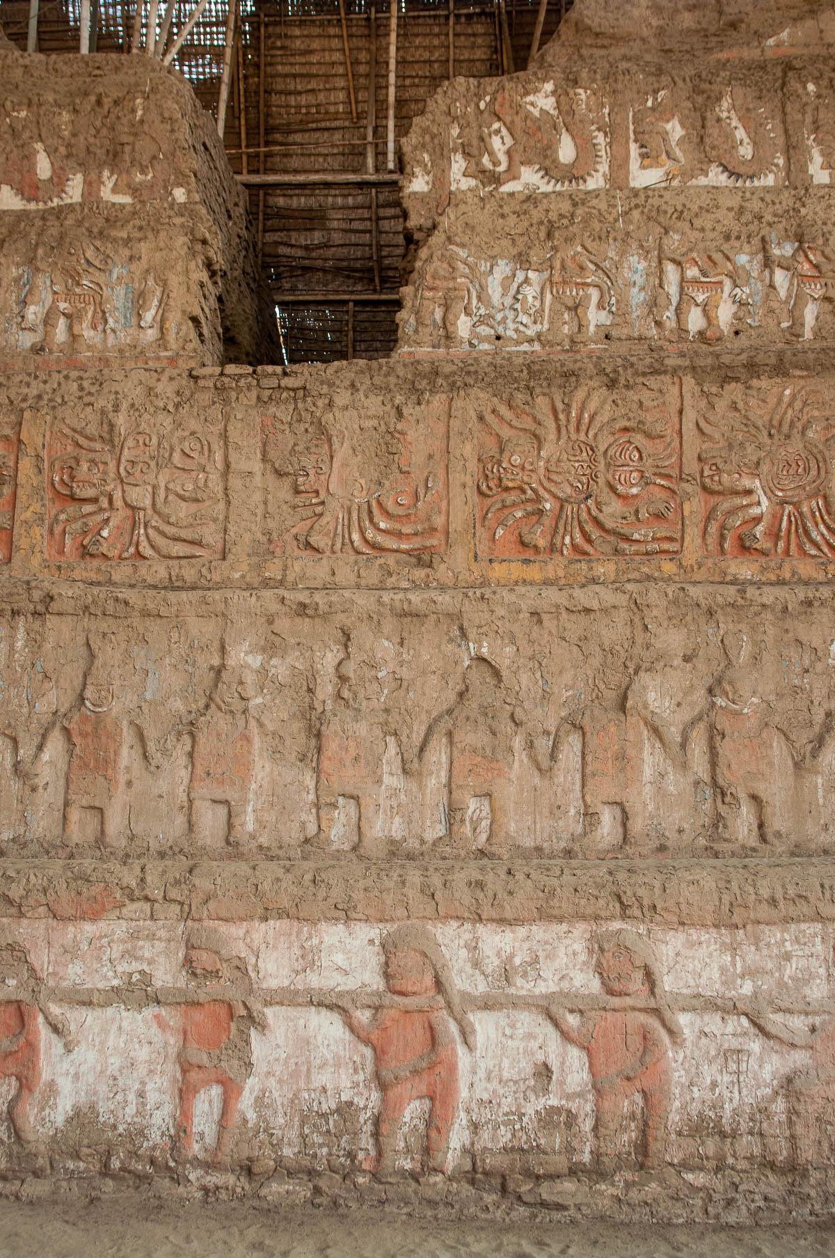 trujillo huaca mur relief