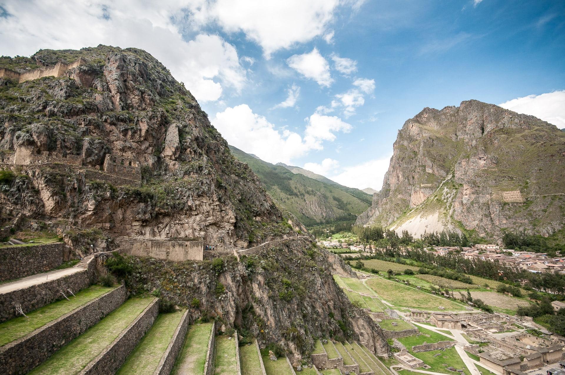 ollantaytambo ruines ville - Les globe blogueurs - blog voyage nature