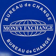 Insigne bureau de change à New York