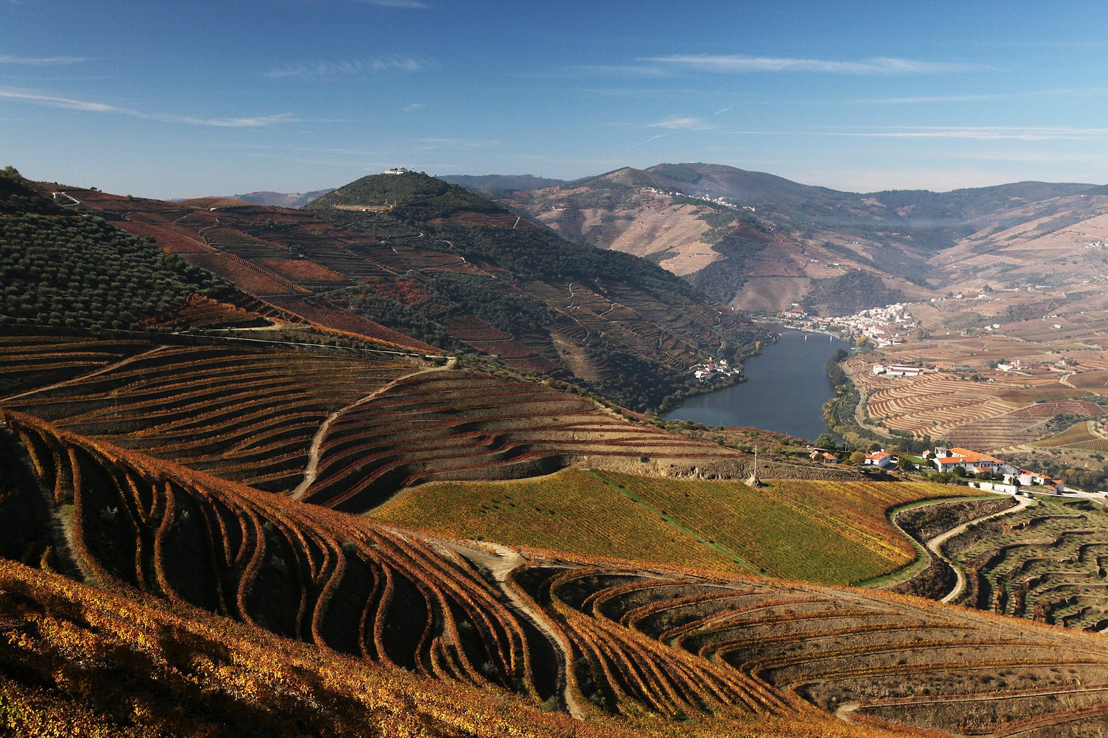 Vallée douro portugal
