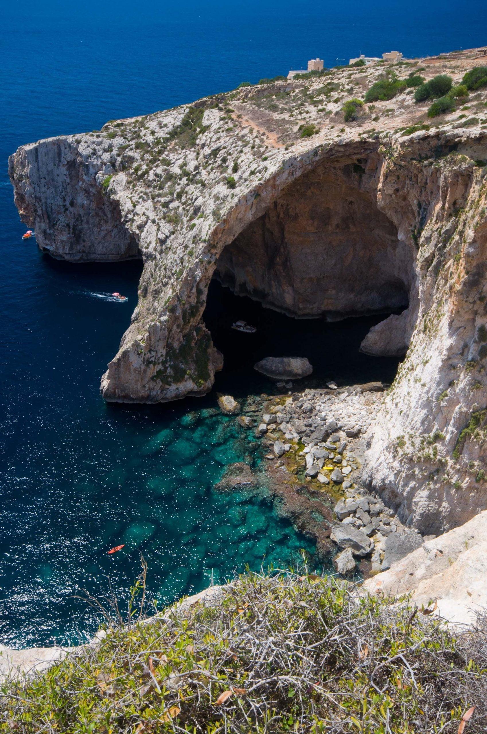 blue grotto malte grotte bleue