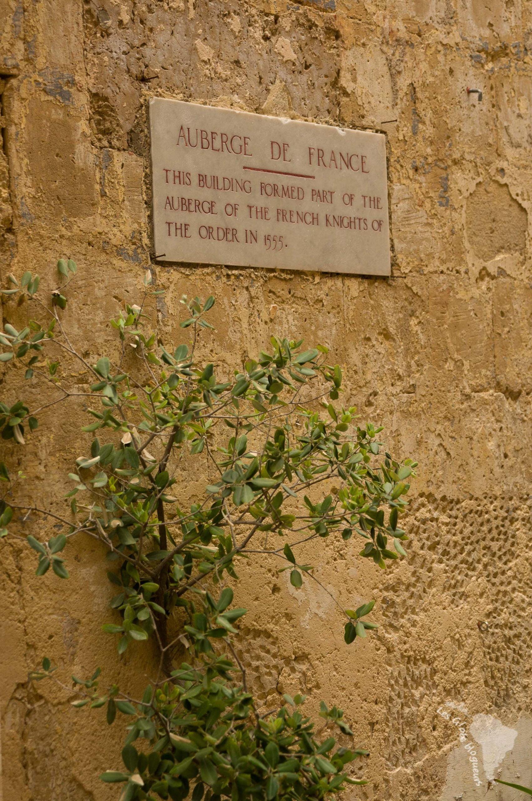 Auberge de France, une des rares qui existent toujours