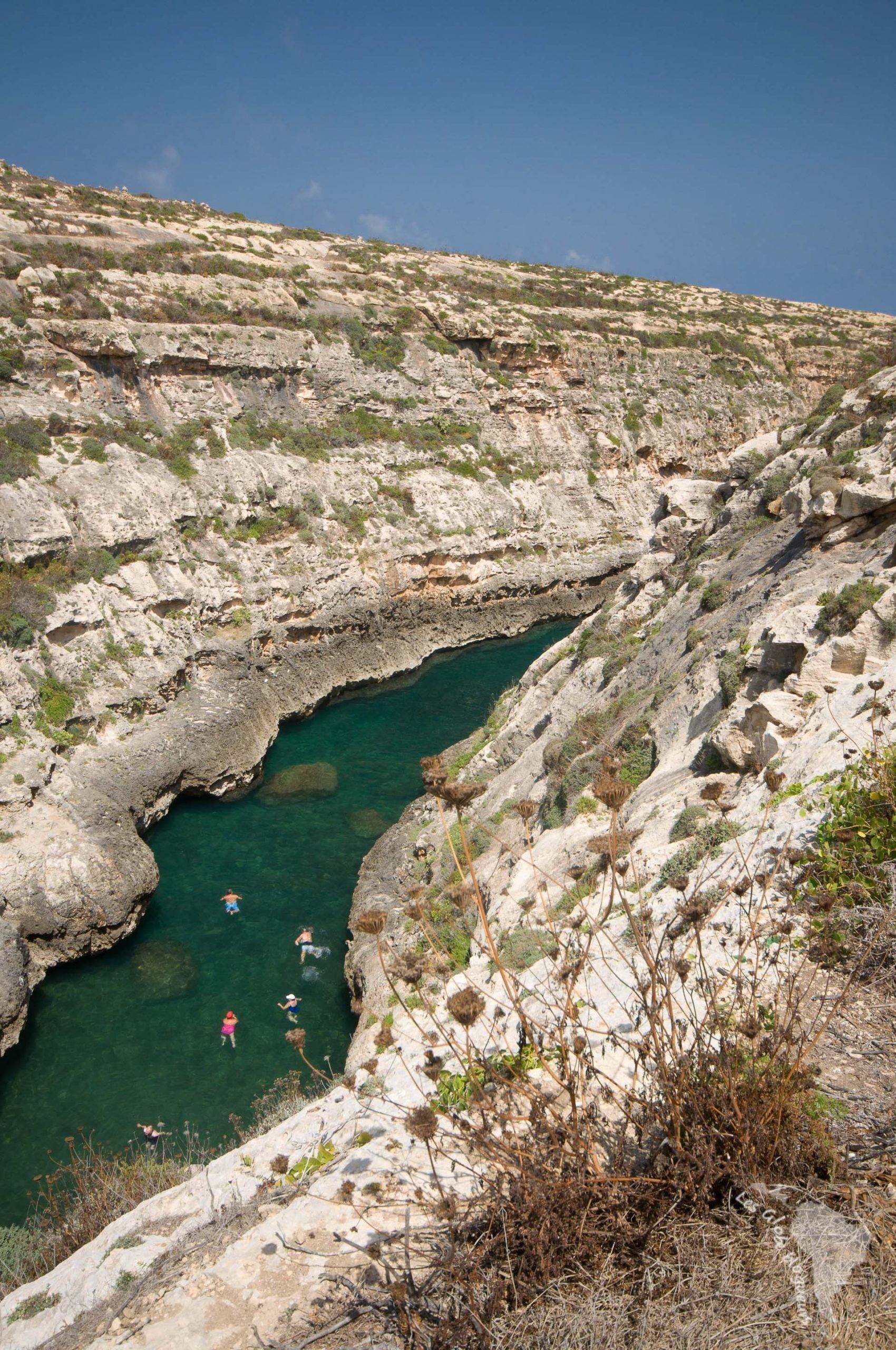 Le canyon de Wied el Ghasri