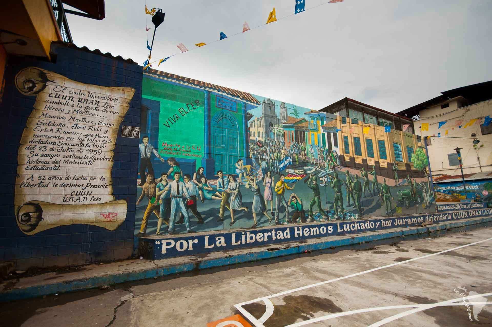Murale étudiants