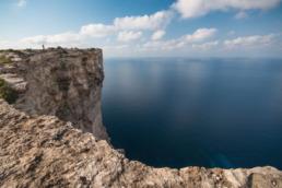 vertige falaise malte