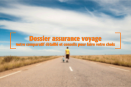 comparatif meilleure assurance voyage la moins cher