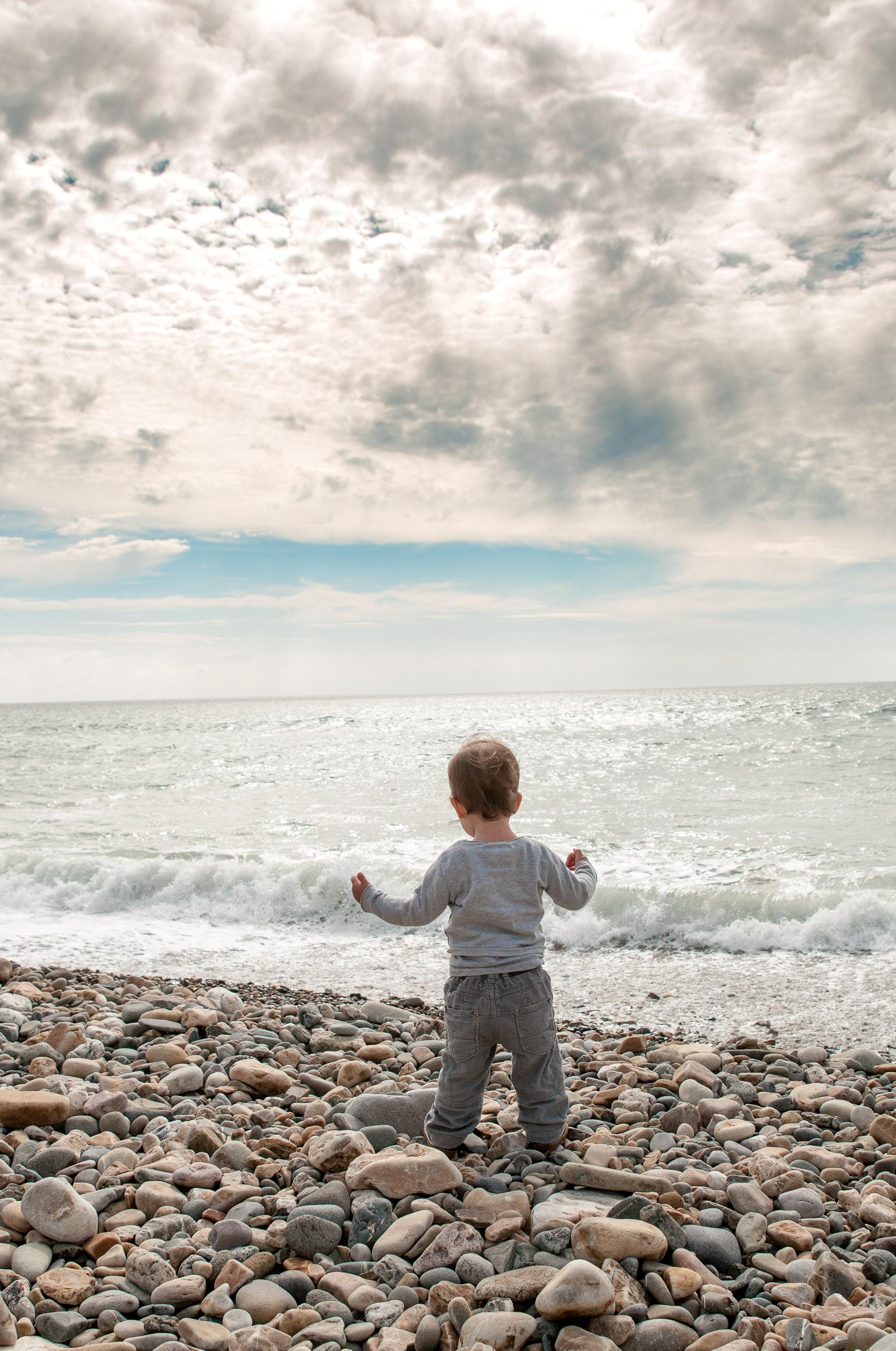 Hélio qui tente déjà de dompter les vagues