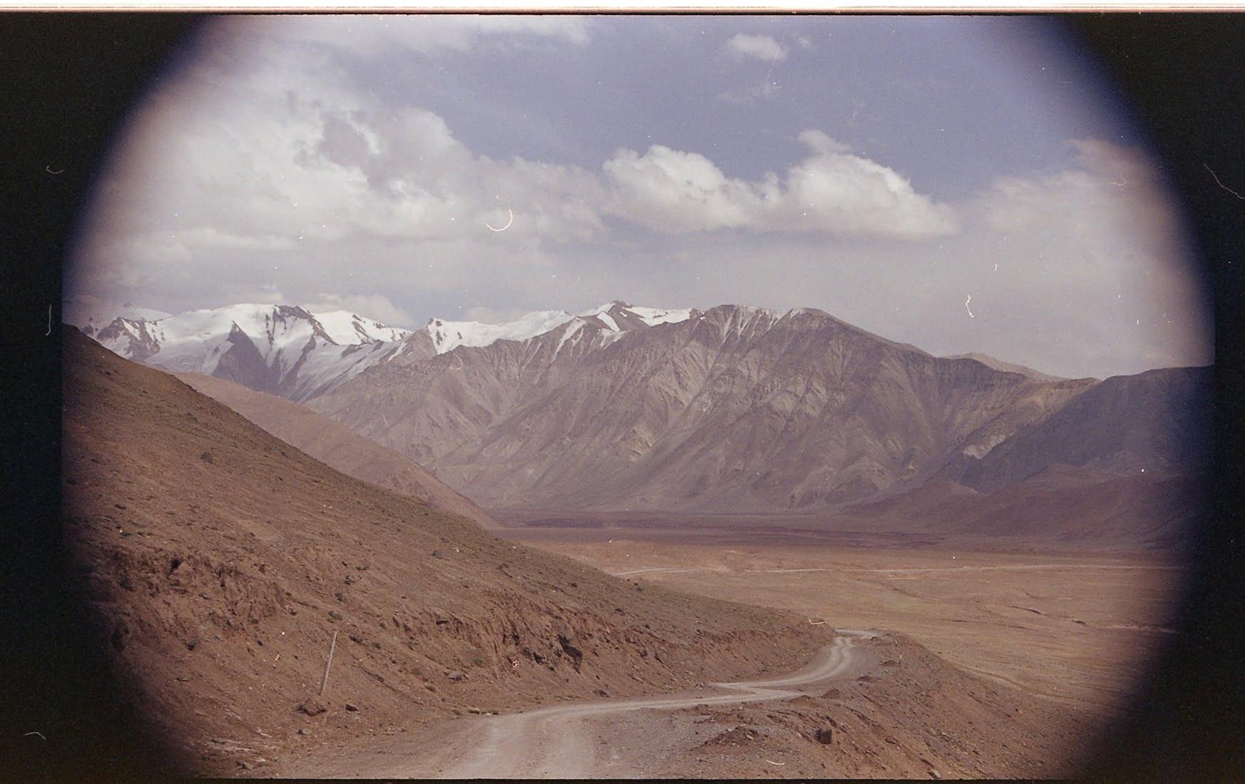 les montagnes du pamir au Tadjikistan