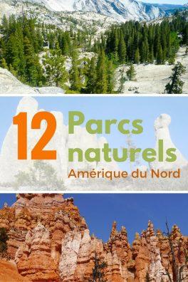 pacs naturels amérique du nord
