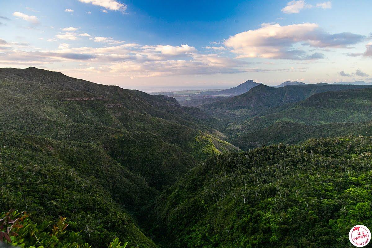 Les plus beaux paysages d'Afrique - Parc national des gorges de rivière noire à l'île Maurice