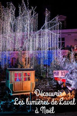 Les lumières de Lavalà Noël - Les globe blogueurs - blog voyage nature