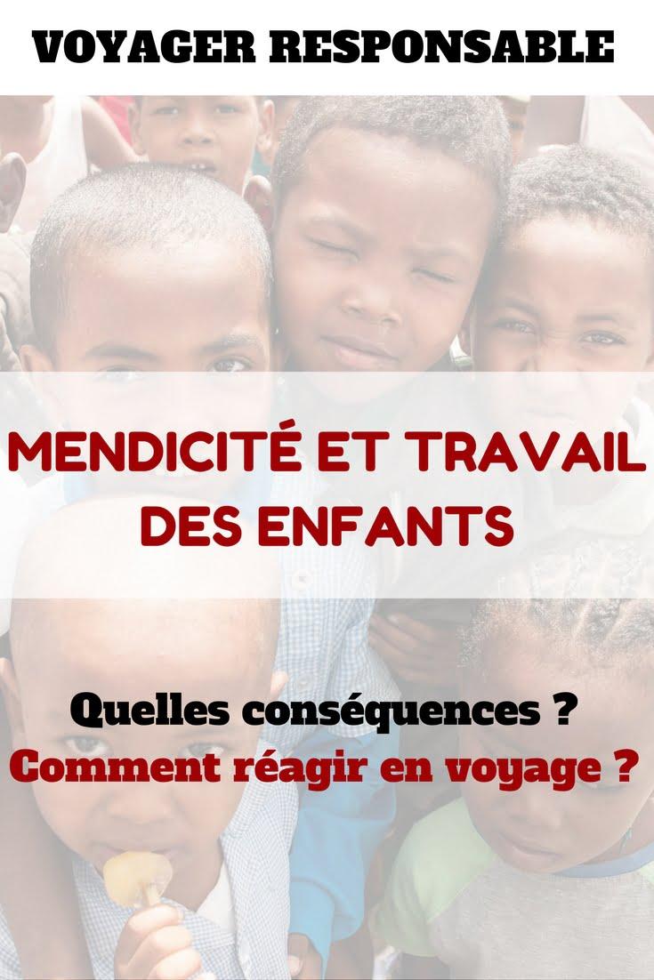 MendicitéTravail - Les globe blogueurs - blog voyage nature