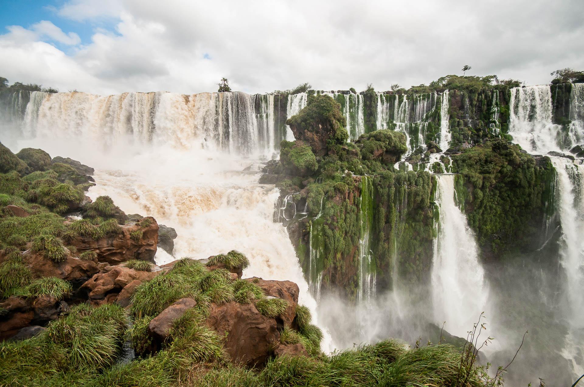 Iguazu haut ile - Les globe blogueurs - blog voyage nature