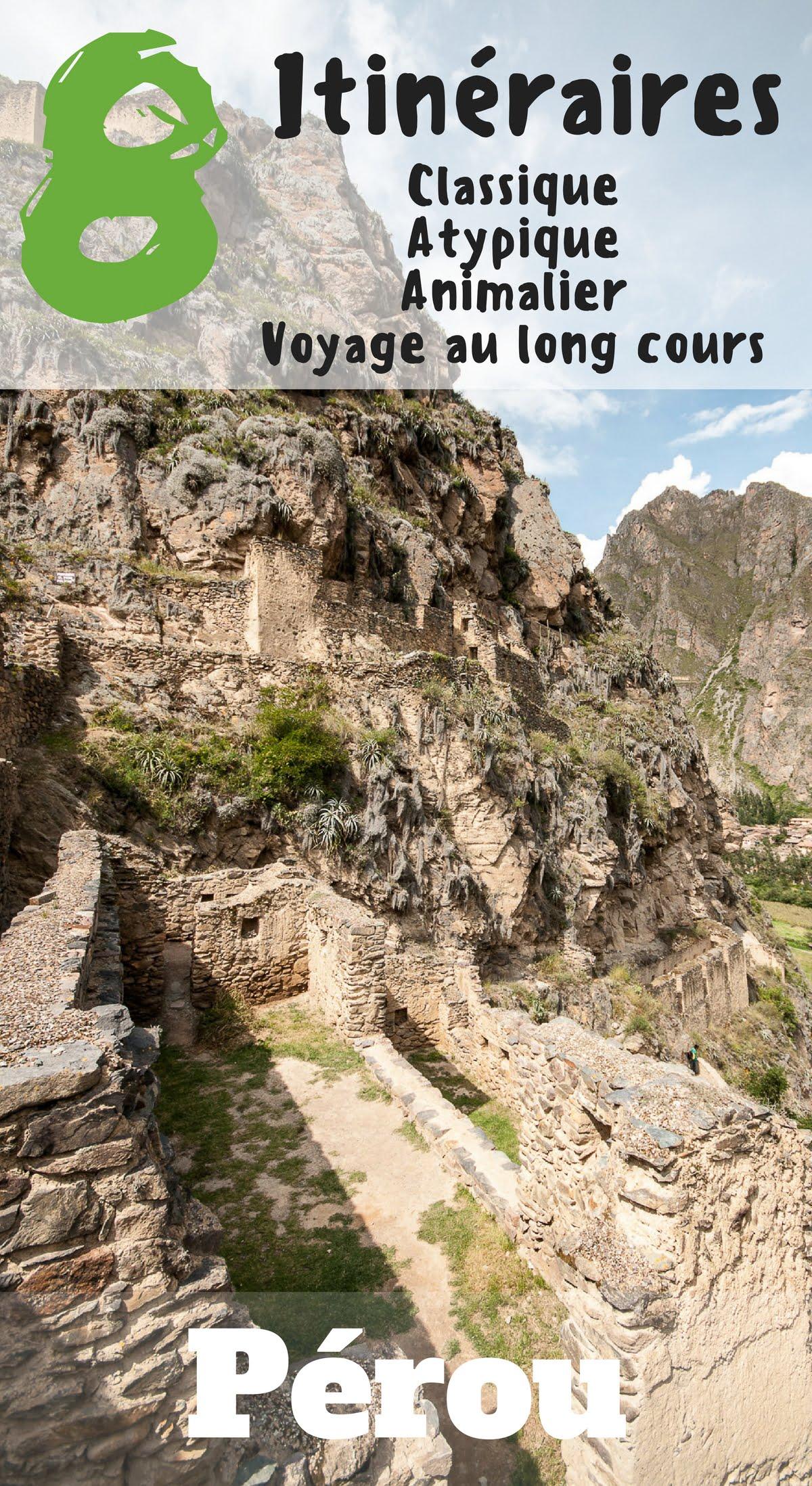 Itinéraires pérou 2 - Les globe blogueurs - blog voyage nature