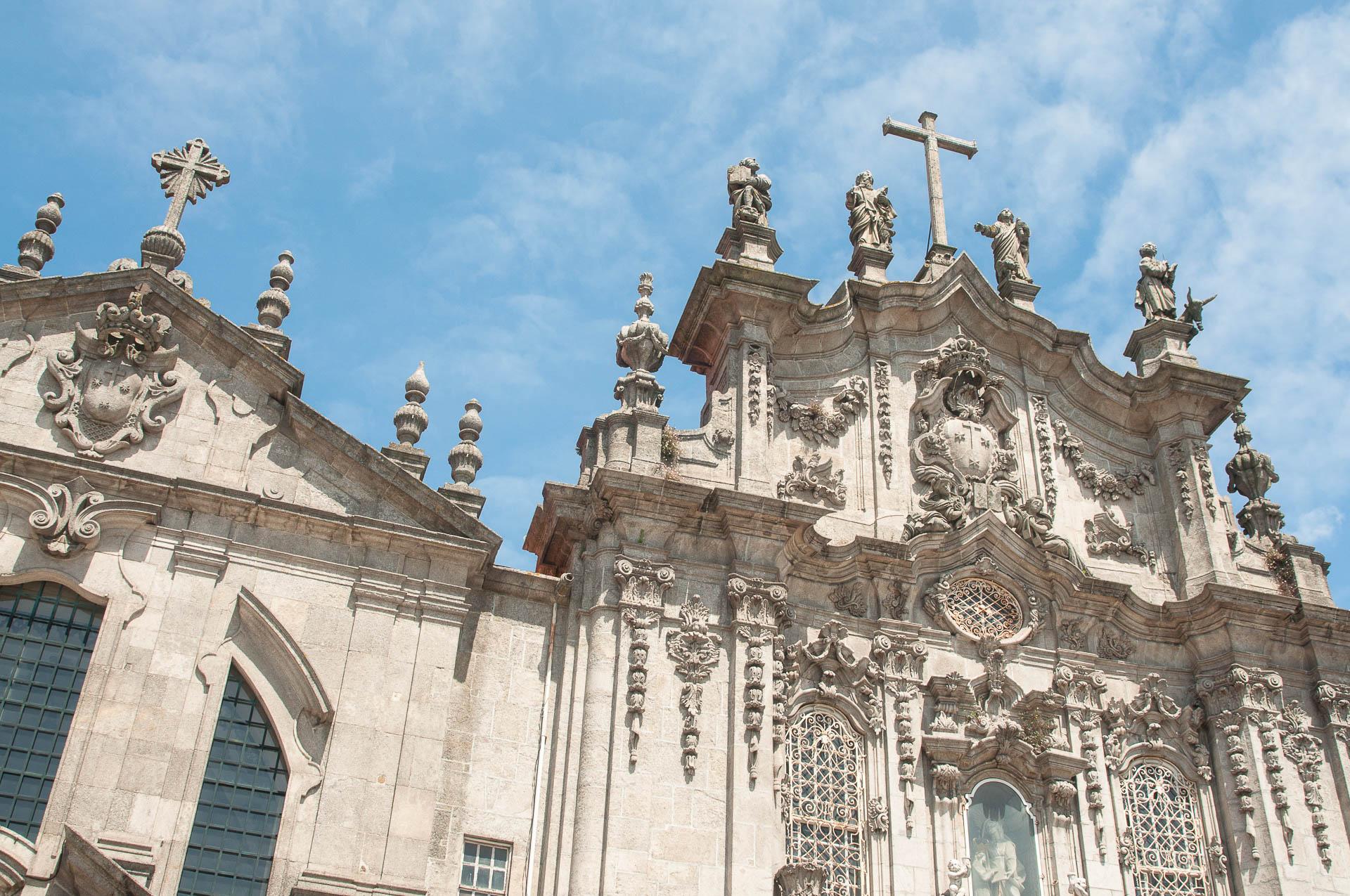 Porto façade église - Les globe blogueurs - blog voyage nature