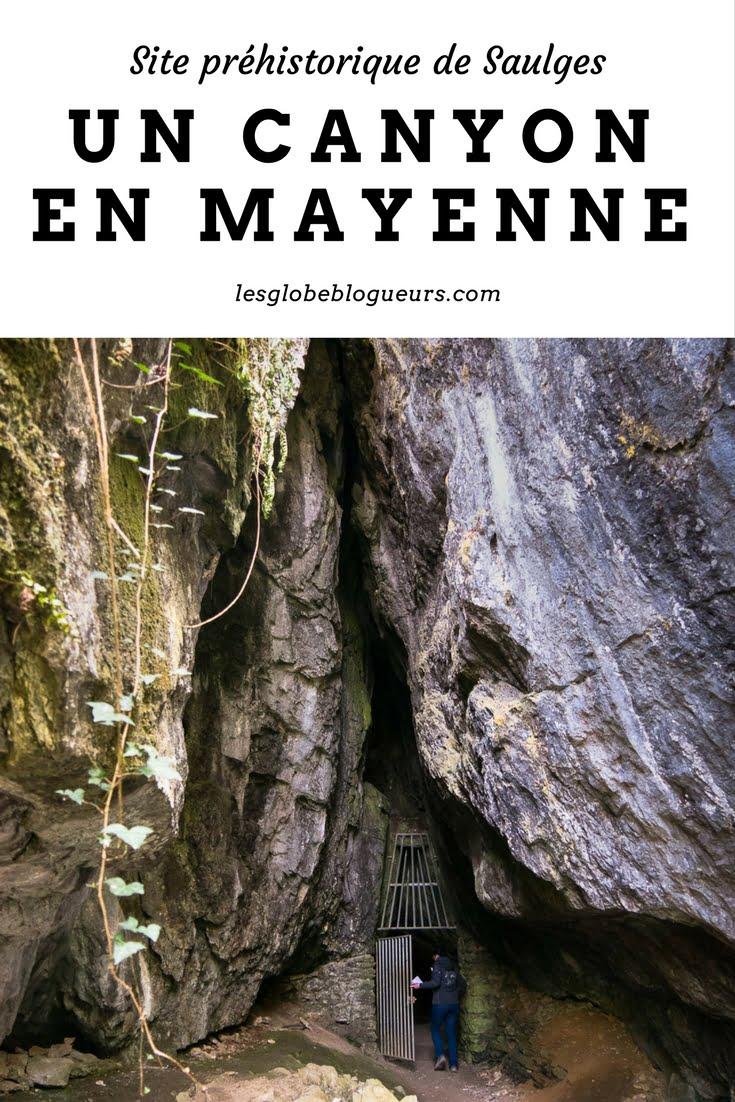 Un Canyon en Mayenne - Les globe blogueurs - blog voyage nature