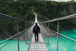 trieves passerelle lac monteynard