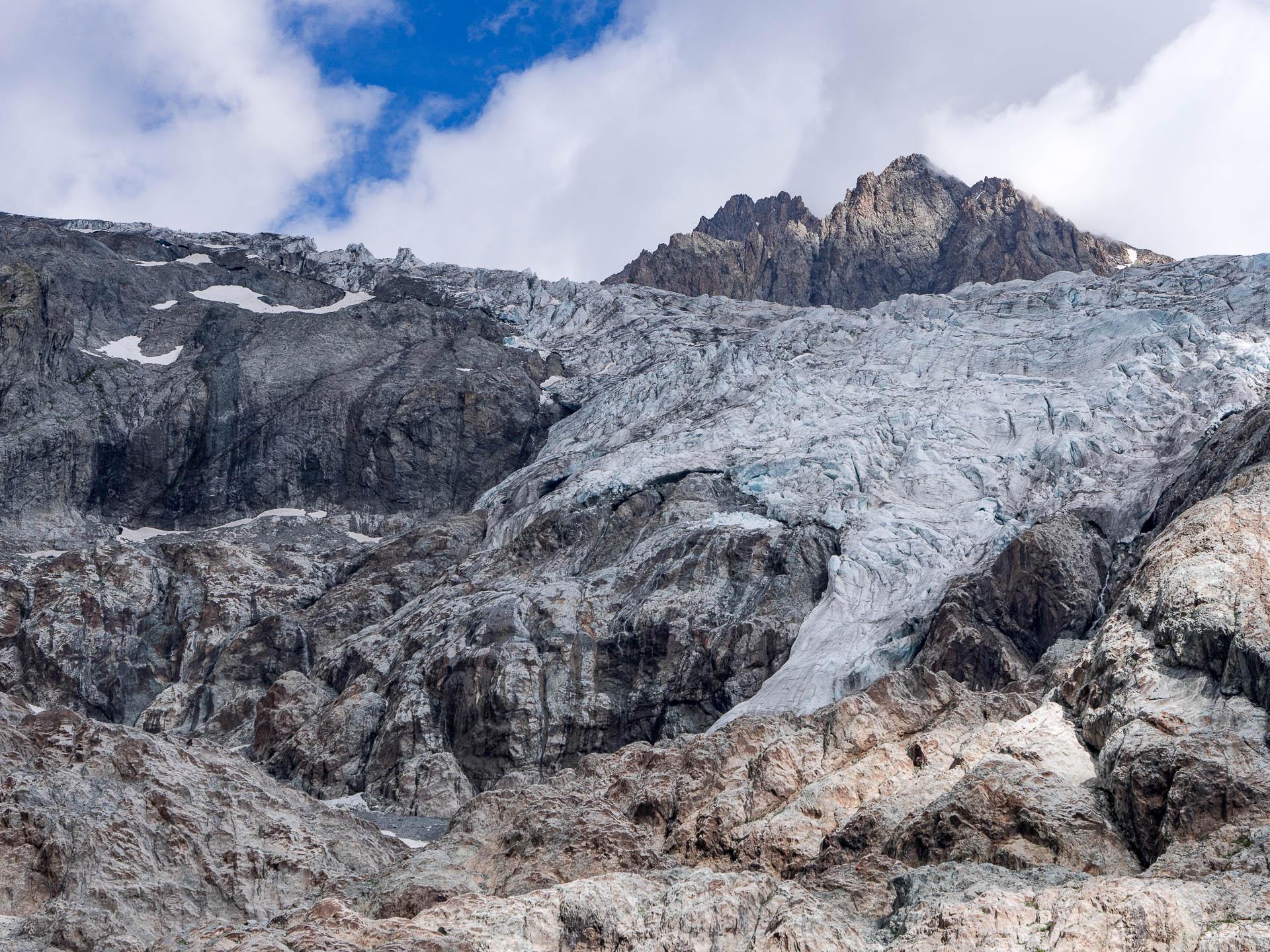 crins glacier blanc - Les globe blogueurs - blog voyage nature