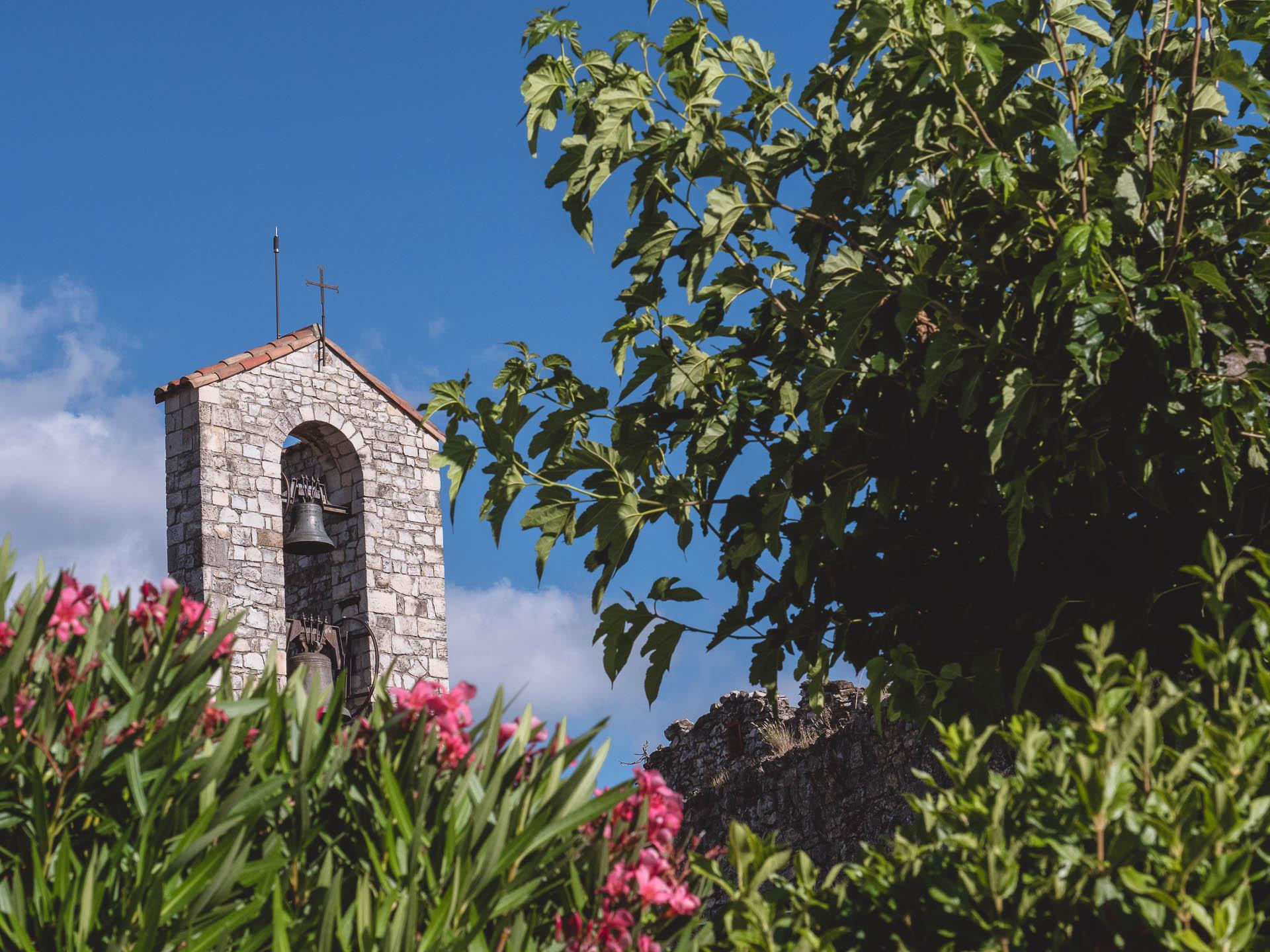 drôme sauzet église - Les globe blogueurs - blog voyage nature